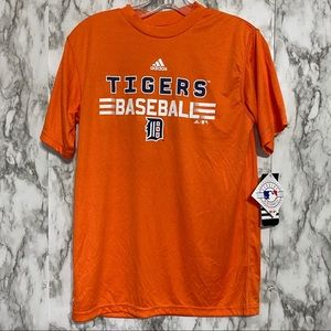Adidas Detroit Tigers dry fit t-shirt